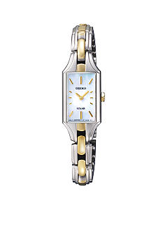 Seiko Women's 30 Meter Two Tone Solar Dress Watch