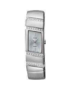 Seiko Women's 30 Meter Stainless Steel Solar Modern Jewelry Watch