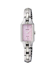 Seiko Women's 30 Meter Stainless Steel Solar Dress Watch