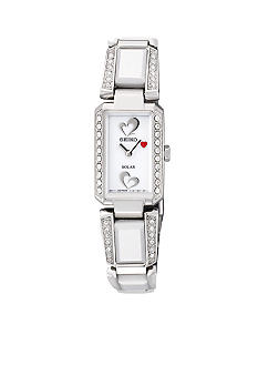 Seiko Women's 30 Meter Stainless Steel American Heart Association Solar Bangle Watch