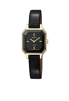 Seiko Ladies 30 Meter Solar Modern Dress Watch