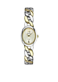 Seiko Women's Solar Two-Tone Watch