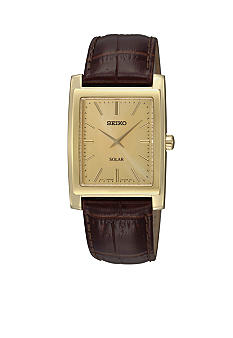 Seiko Men's 30 Meter Solar Dress Watch