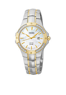 Seiko Women's Two-Tone Solar Coutura Watch