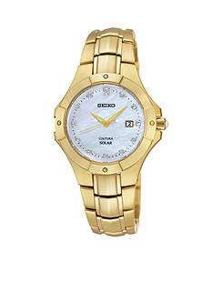 Seiko Women's Coutura Diamond Solar Dress Watch