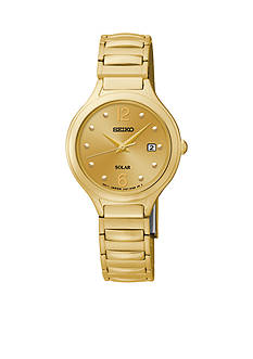 Seiko Women's Stainless Steel Solar Expansion Band Watch