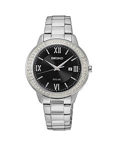 Seiko Women's Recraft Crystal Solar Watch