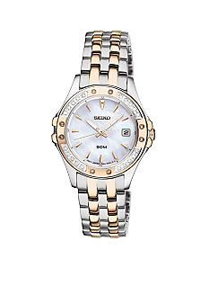 Seiko Le Grand Sport Diamond Bezel Watch