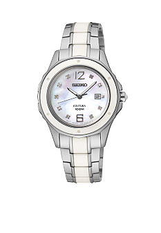 Seiko Women's 100 Meter Diamond Dial Coutura Watch