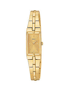 Seiko Ladies Yellow Gold-Gilt Dial Bracelet