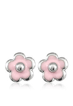 Belk & Co. Children's Sterling Silver Flower Earring