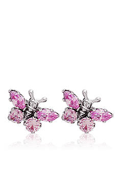 Belk & Co. Children's Sterling Silver Butterfly Earrings