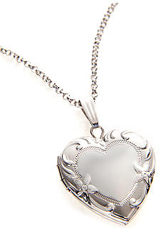 Belk & Co. Sterling Silver Heart Locket