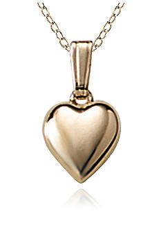 Belk & Co. Baby 14K Puffed Heart Pendant