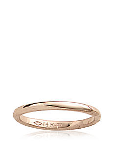 Belk & Co. Baby 14K Polished Band Ring