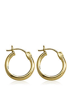 Belk & Co. Children's 14k Gold Hoop Earrings