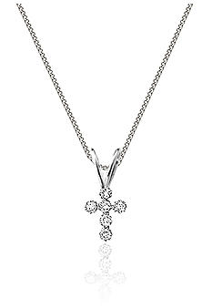 Belk & Co. Children's 14K Cubic Zirconia Cross