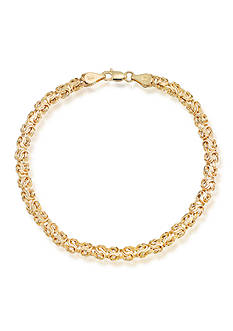Belk & Co. 10k Yellow Gold Bracelet