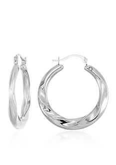 Modern Gold™ 14k Gold Hoop Earrings