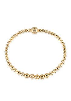 Modern Gold™ 14k Yellow Gold Bead Bracelet