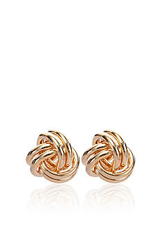 Belk & Co. 14k Love Knot Earrings
