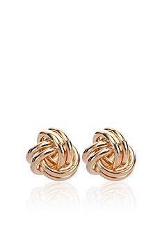 Belk & Co. 14k Love Knot Earrings