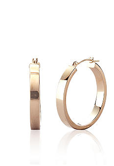 Belk & Co. 14k Square Edge Hoop Earrings