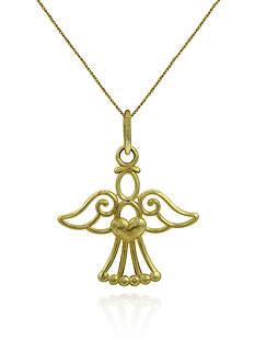 Belk & Co. 14k Yellow Gold Angel Pendant