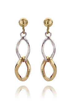 Belk & Co. 14k Dangle Link Earrings