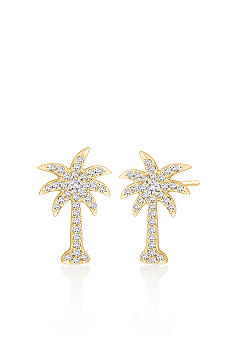 Belk & Co. Diamond Palm Tree Earrings