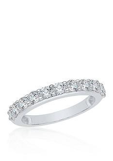 Belk & Co. 1/4 ct. t.w. Diamond Wedding Band set in 14K White Gold