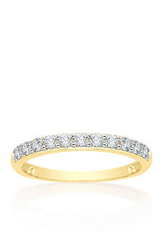 Belk & Co. 1/2 ct. t.w. Diamond Wedding Band in 14k Yellow Gold