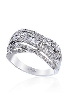 Effy Diamond Ring in 14k White Gold