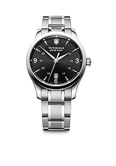 Victorinox Swiss Army Alliance Large Black Dial Bracelet Watch