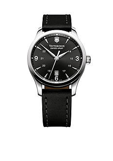 Victorinox Swiss Army Alliance Black Strap Watch