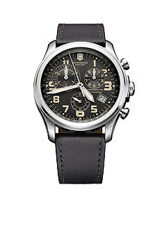 Victorinox Swiss Army Anthracite Infantry Vintage Chronograph Watch