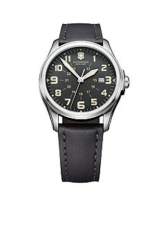 Victorinox Swiss Army Anthracite Infantry Vintage 38mm Watch