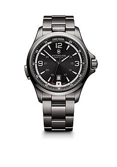 Victorinox Swiss Army Men's Night Vision Black Ice Watch