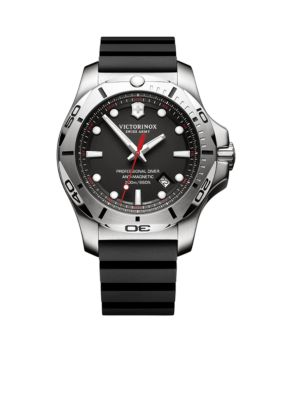 Victorinox Swiss Army  Inc.  Men's I.N.O.X. Professional Diver Black Dial Watch -  54001182417331