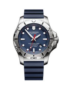 Victorinox Swiss Army  Inc.  Men's I.N.O.X. Professional Diver Blue Dial Watch -  54001182417341