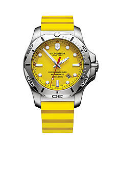 Swiss Army I.N.O.X. Yellow Professional Diver Watch