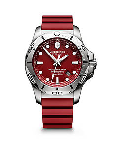Swiss Army Men's I.N.O.X. Professional Diver Red Dial Watch