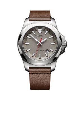 Victorinox Swiss Army  Inc.  Men's I.N.O.X. Grey Dial Watch -  54001182417381