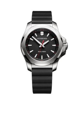 Victorinox Swiss Army  Inc.  Women's I.N.O.X. Black Rubber Watch -  5400118241768
