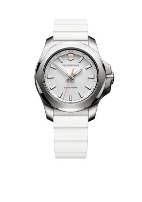 Victorinox Swiss Army  Inc.  Women's I.N.O.X. White Rubber Watch -  5400118241769