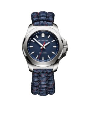 Victorinox Swiss Army  Inc.  Women's I.N.O.X. Blue Paracord Watch -  5400118241770