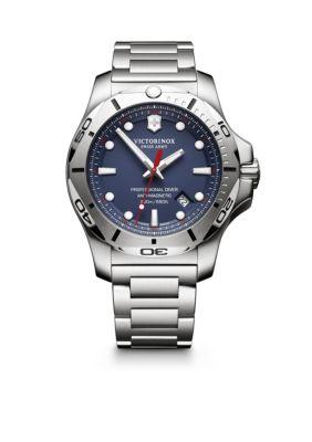 Victorinox Swiss Army  Inc.  I.NO.X Professional Diver Blue Dial Watch -  5400118241782