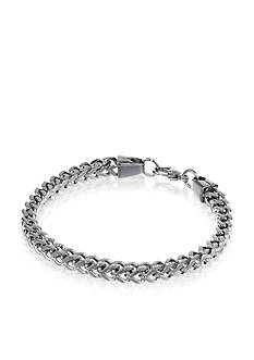 Belk & Co. Mens Stainless Steel Bracelet
