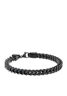 Belk & Co. Mens Stainless Steel Chain Bracelet