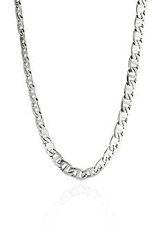 Belk & Co. Men's Stainless Steel Necklace